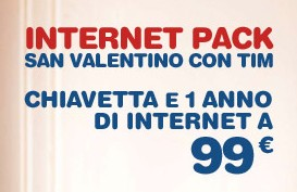 internet pack san valentino tim