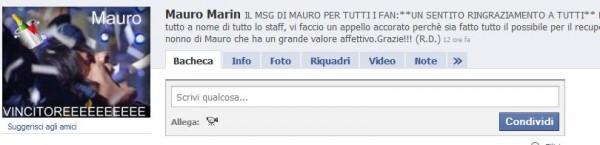 Mauro Marin facebook