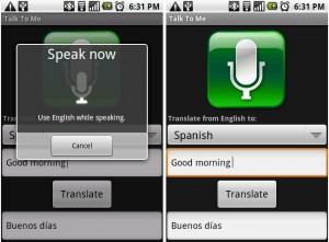 android applicazione traduttore talk-to-me-speech