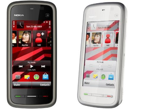 nokia 5230 touch screen