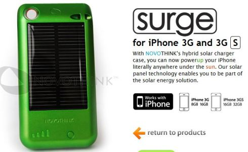 novothink surge iphone 3g