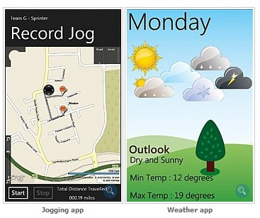Applicazione windows mobile 7