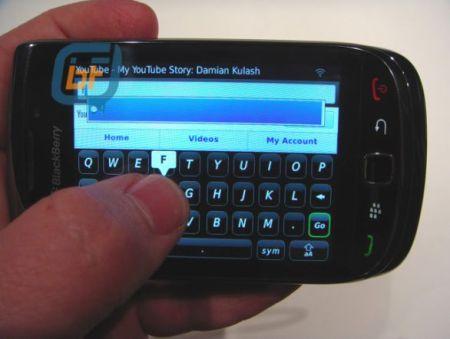 Blackberry blod 9800