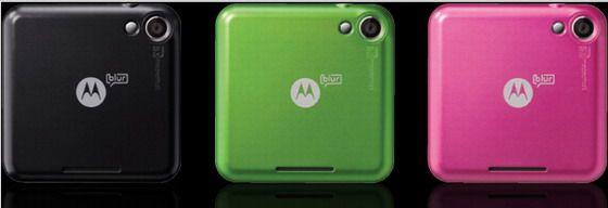Motorola flipout colori disponibili