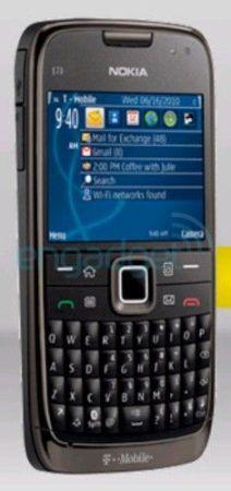 Nokia e73 foto