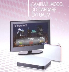 Vodafone-digitaòe terrestre TV-Connect