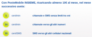 Postemobile insieme, portabilità offerte 2011 | Settimocell