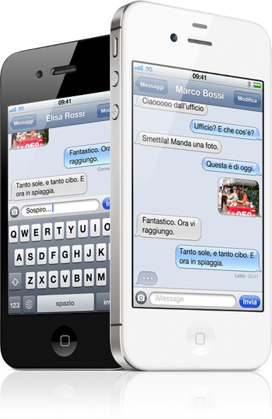 how to get imessage on iphone 4