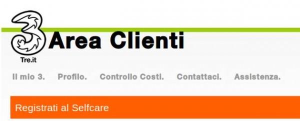Come disattivare una promozione tre senza chiamare il 133 for Area clienti 3 servizi in abbonamento