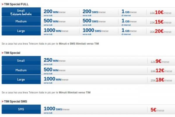 Tim special finalmente anche per vecchi clienti tim for Offerta telecom per clienti da piu di 10 anni