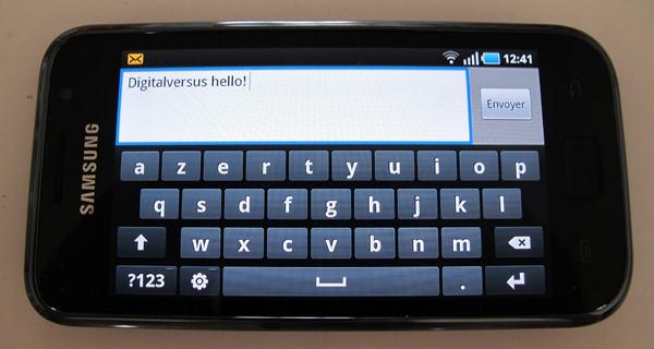 SMS Samsung