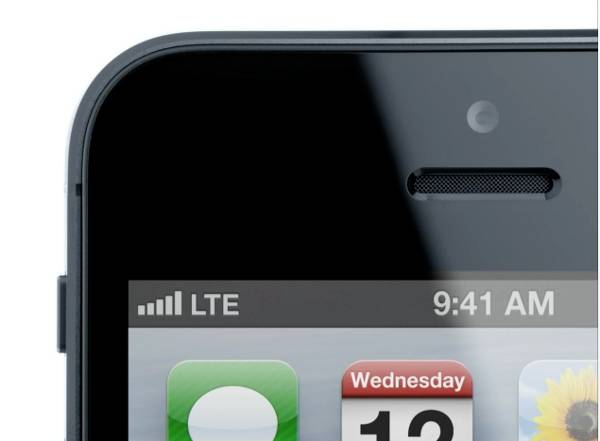 LTE iPhone
