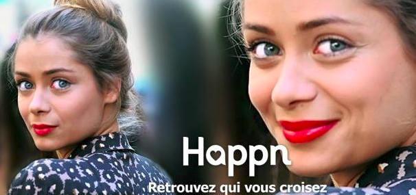 Happn facebook