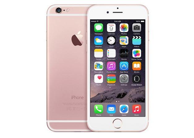 iPhone 6S rosa oro